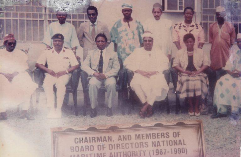 NMA first board members