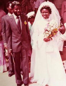 wedding in 1983