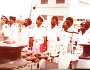 officers on board river maje