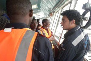 lasu students at apapa port