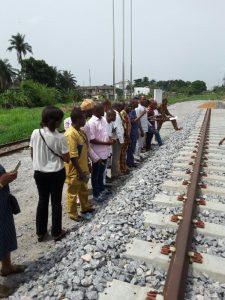 lasu students visit to the railways